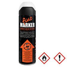 1 x 500ml weiß Markierungsspray Markierfarbe Lack Sprühlack Spraydose 14 570
