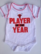 CHICAGO BULLS Baby Creeper Body Suit Size 18 Months NBA Basketball