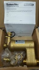 SENTINEL System Filter 22mm Compact Brass Central Heating Boiler Protection