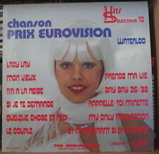 THE BURLINGTON'S HITS SELECTION 10 CHEESECAKE COVER FRENCH LP