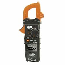 NEW KLEIN TOOLS CL800 DIGITAL CLAMP METER, AC/DC AUTO-RANGING 600A