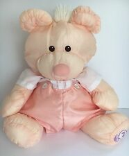 Fisher Price Puffalumps Peach Bear Romper Outfit 16""