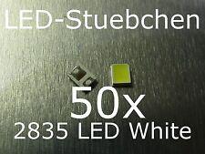 50x 2835 Kaltweiss 60 mA SMD LED Gurtabschnitt