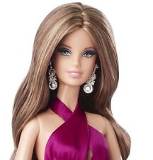 Beautiful The Look Red Carpet Barbie NRFB Magenta Gown