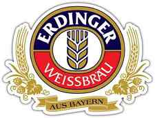 "Erdinger Beer Alcohol Car Bumper Window Locker Sticker Decal 5""X4"""
