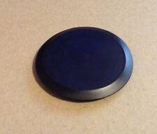 "2"" (2.0 Inch) Flush Mount Black Plastic Body and Sheet Metal Hole Plug"