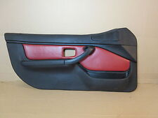 98 BMW Z3 M Roadster E36 #1009 Left Door Panel Black & Red