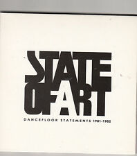 STATE OF ART - dancefloor statements 1981-1982 CD