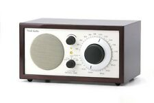 Tivoli Audio Platinum Series Model One AM-FM Table Radio, Dark Walnut/Beige NEW