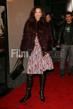FUR COAT (EGGPLANT, size 6-8) CELEBRITY OWNED Sofia Milos (Sopranos, CSI Miami)