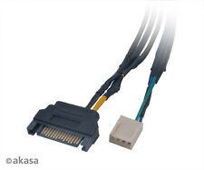 Akasa CBFA06-30 Flexa FP3S 3-way PWM Fan Splitter Cable