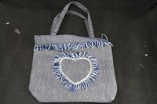1 PCs DENIM BAG WITH ZIPPER - Free Postage - Quality Made