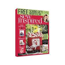 Sew Inspired  Magazine -  Issue 5 - With Free Gifts Worth £30 - New Out