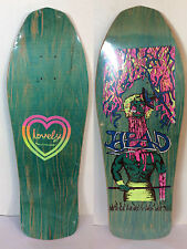 LOVELY BRAND ORIGINAL NOS DECK SUPER SKATEBOARD HEAD MODEL RARE OLD SCHOOL SKATE