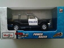 Maisto power racer Ford Explorer police car highly detailed model licenced