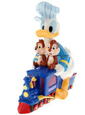 Disney Donald Duck with Chip & Dale on Train Cookie Jar Limited Edition 350 NIB