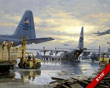 NEW ORLEANS NAVAL AIR STATION BASE PAINTING US MILITARY HISTORY ART CANVAS PRINT