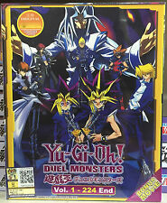 Anime DVD: Yu Gi Oh ! Duel Monsters (1-224 End+Movie)_Good Eng Sub_FREE SHIPPING