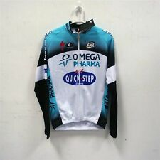 Vermarc Quick Step Long Sleeve Jersey Blue Black White L Size