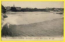 cpa 17 - SAINT GEORGES de DIDONNE La PLAGE Embouchure Gironde Balnéaire Bateau