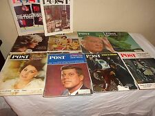 20 SATURDAY EVENING POST Magazines from the 1960s lot 6-8-1
