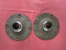USED GENUINE PORSCHE 914-4 EARLY REAR  WHEEL HUBS   VERY RARE!  5 LUG POTENTIAL