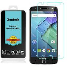 2X ZenTech® Tempered Glass Screen Protector Guard For Motorola Moto Z Droid