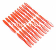 10pair 65mm Red Propeller Q100 Mini Brushed Frame Quadcopter Fpv Parts For