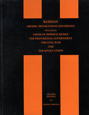 Imperial Russian Civil War USSR Orders Medals Decorations Werlich Catalog Book