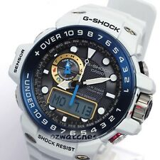 CASIO G-SHOCK GULFMASTER MENS WATCH SOLAR GWN-1000E-8A GWN-1000E-8ADR PALE BLUE