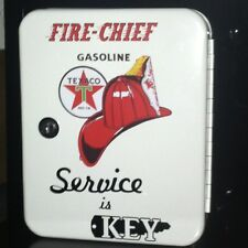 TEXACO FIRECHIEF 1950S GAS OIL SERVICE STATION KEY BOX