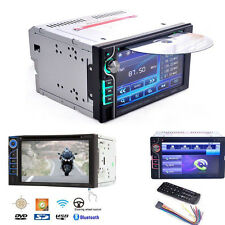 "New 6.2"" HD Bluetooth 2DIN In dash Car stereo DVD CD Media Player Touch Screen"