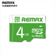 Remax Full 4GB  Micro SD SDHC TF Flash Storage Memory Card 4GB
