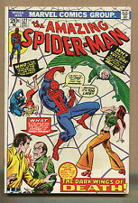 Amazing Spider-Man #127 - The Wings of Death - 1973 (Grade 7.5) WH