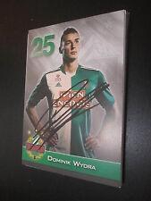 27629 Dominik Wydra Rapid Wien original signierte Autogrammkarte
