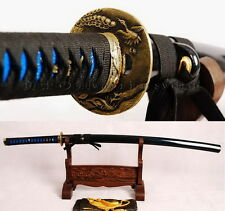 Japanese katana sword 1060 carbon steel full tang blade sharpened bird tsuba 254
