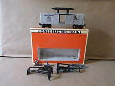 Lionel Model Train 6-16705 C&O Hydraulic Maintenance Boxcar O Scale