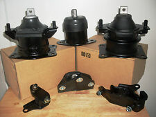 FITS: 2003-2005 HONDA ACCORD - SET OF 6 MOTOR & TRANSMISSION MOUNTS (3.0L,V6,AT)