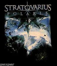 STRATOVARIUS cd cvr POLARIS Official TOUR 2009 SHIRT XL New oop