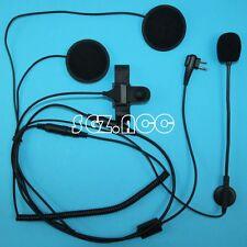 Open Close Helmet Motorcycle Headset/Earpiece for Motorola Radio CLS1450CB VL50