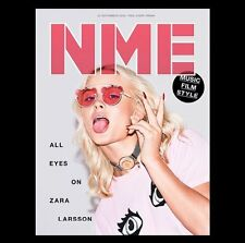 The NEW MUSICAL EXPRESS NME 23 SEPTEMBER 2016 ZARA LARSSON Front Cover n.m.e.