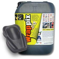 WRAPPIX LiquidWrap 5 litri NERO JET 9005  Opaco Pronto all'uso Plastidip 5LT DIY