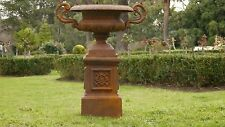 Cast Iron Urn Planter CAMPANA | RUST | Melb Pick Up