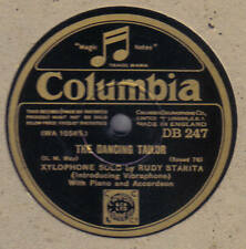 RUDY STARITA - The Dancing Tailor / The Clatter Of The Clogs 78 rpm disc