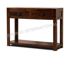 Modern  Wood Wooden Console Table / Dressing Table / Hallway Table !