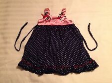 SOPHIE ROSE RIBBONS*STARS & STRIPES RED*BLUE & WHITE DRESS-SIZE 4T