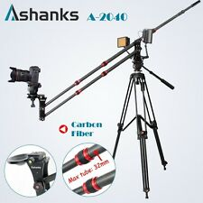 Pro 5-10KG Carbon Fiber Jib Crane Portable DSLR Video Camera Crane Jib Arm