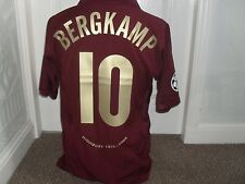 Arsenal 2005 - 06 Home  shirt ( BERGKAMP 10 )