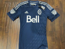 NWT AUTHENTIC ADIDAS VANCOUVER WHITECAPS MLS SOCCER JERSEY sz S SMALL world cup