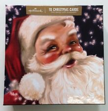 Hallmark Christmas Coca Cola Santa Christmas Gallery Card Box 10 Cards 11403067